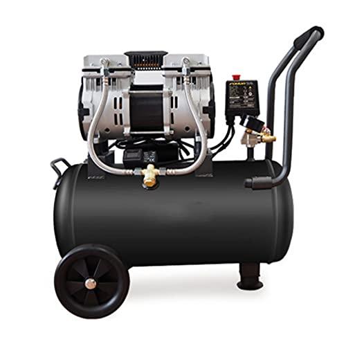 WUK Compresor de Aire silencioso 1390W sin Aceite, pequeño 220V, decoración portátil para el hogar, Pintura en Aerosol, Bomba de Aire, compresor de Aire, Herramientas neumáticas eléctricas 15 / 30L