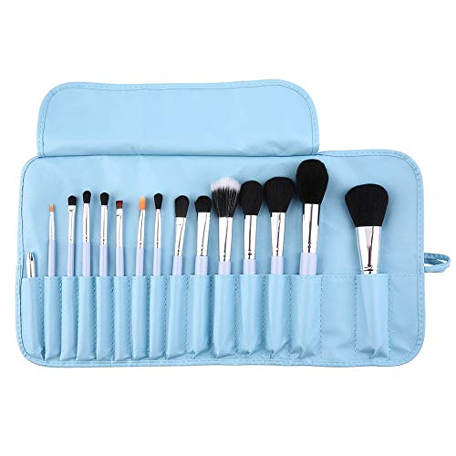 Bubbry 15 stuks make-up kwastenset poeder foundation oogschaduw eyeliner lippenpenseel gereedschap