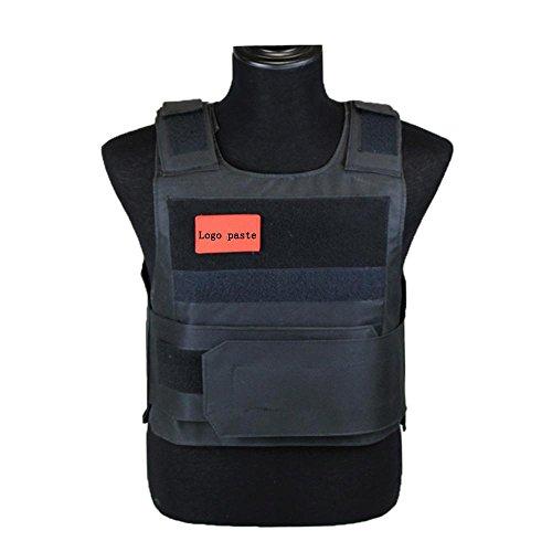HT Chaleco táctico Chaleco Anti-Cuchillo CS al Aire Libre Protectores del Cuerpo Tácticas Chaleco antiterrorismo Protección del Pecho Al Aire Libre Cosplay Nylon