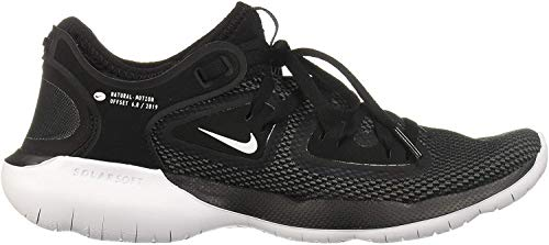 Nike Men's Flex RN 2019 Running Shoes (Black/White/Anthracite, 10)
