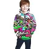 maichengxuan Spla-Toon 2 ! Novelty Sudaderas con Capucha para Niños Moda para Adolescentes