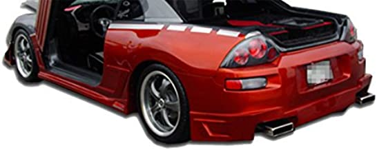 KBD Body Kits Compatible with Mitsubishi Eclipse 2000-2005 Blits Style 1 Piece Flexfit Polyurethane Rear Bumper. Extremely Durable, Easy Installation, Guaranteed Fitment, Made in the USA!