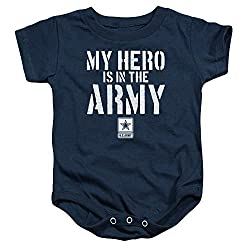 Popfunk Army My Hero Baby Onesie Image for Best Gift Blog for Military Dads