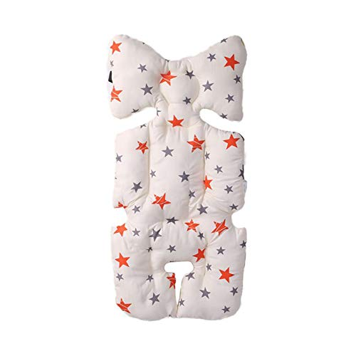 luosh Cochecito de bebé Revestimientos de Asiento Cochecito Algodón cálido Alfombrilla Colchón para Dormir Almohada