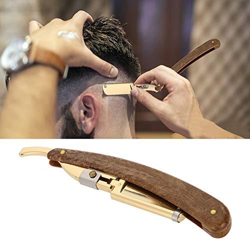 Professionelles Rasiermesser für Herrenfriseur, Rasierer aus Edelstahl