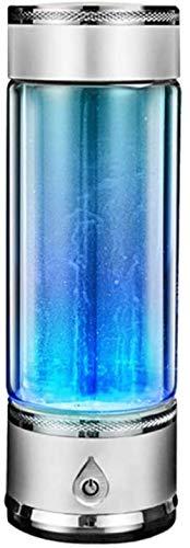 Wasserstoffreiche Wasserflaschenqualität Hochkonzentrierter alkalischer Ionisator Wasserstoffwassergenerator Gesundheitsglasbecher für reines Wasser,