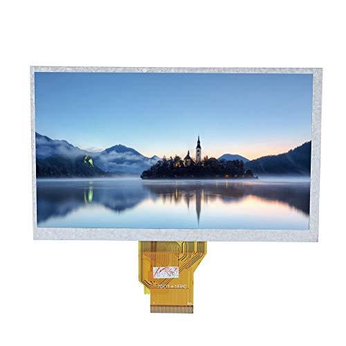 Vbestlife Pantalla Táctil Resistiva Capacitivo de 7 Pulgadas para Raspberry Pi Pantalla LCD de Alta Sensibilidad y Alta Definición para Raspberry Pi