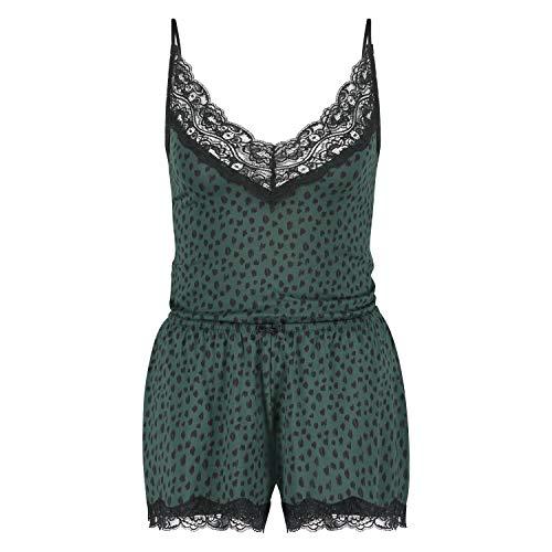 HUNKEMÖLLER Pyjamaset grün XS