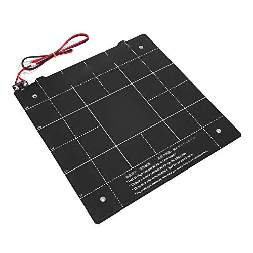 Magnetic Hot Bed Platform, Printer Sticker, Durable Portable Anti‑Oxidation Firm for Diy Enthusiasts 3D Printer