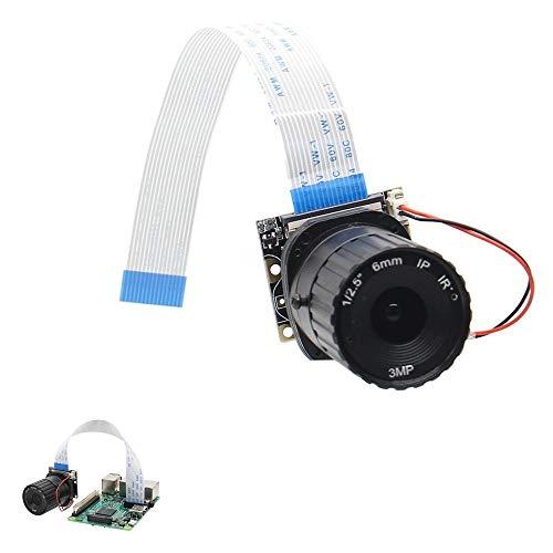 Ywzhushengmaoyi Focal Length Night Vision 5MP NoIR Camera Board With IR-CUT For Raspberry Pi 6mm Electronics Module Parts