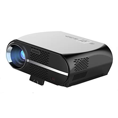 Mini proyector LCD proyector 1080P con HDMI / VGA / USB / SD / AV para entretenimiento en casa, Home Theatre, fiesta y juegos
