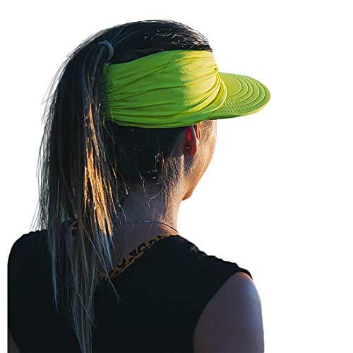 Women Sport Sun Visor Hats,Empty Top Baseball Sun Cap,Womens Sunhats with uv Protection,Sun Hats for Young Girls Women Beach