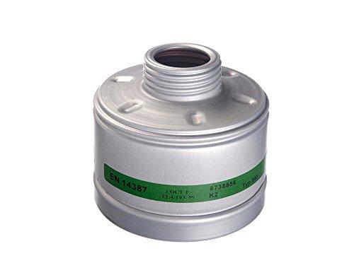 Dräger X-plore Gasfilter 940 K2 (EN 14387) Qualitätsfilter für Masken mit Rundgewinde RD40 (EN 148-1)
