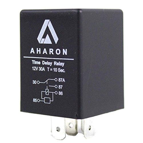 Relais de Retard de Temps de 30 Ampères 12V 10 Secondes Pour la Protection de Phares de Xénon de Moto ou de Voiture
