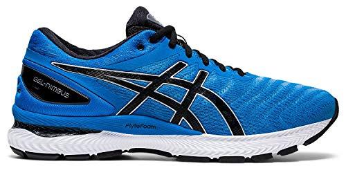 ASICS - Gel-Nimbus 22 - Zapatillas de correr para hombre, talla:, (negro, azul (Directoire Blue/Black)), 45 EU
