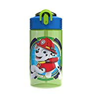 Zak Designs PWPL-T120 Paw Patrol Water Bottles, 16 oz, Rocky, Rubble and Chase, Rocky, Rubble & Chase