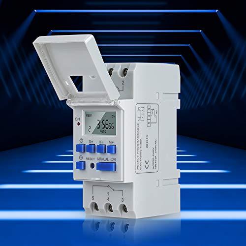 Interruptor de temporizador programable digital de...