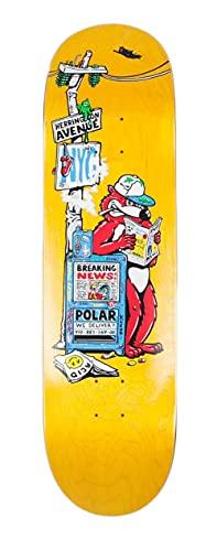 Polar Skate Co Skateboard Breaking News 8.5