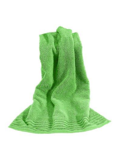 Vossen Vienna Style Supersoft handdoek - Mid Green- 50 x 100 cm