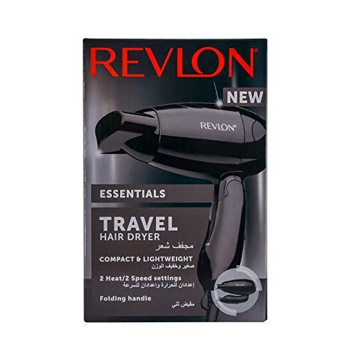 Revlon Essentials Dry & Go 761318253051} - Secador de pelo de viaje