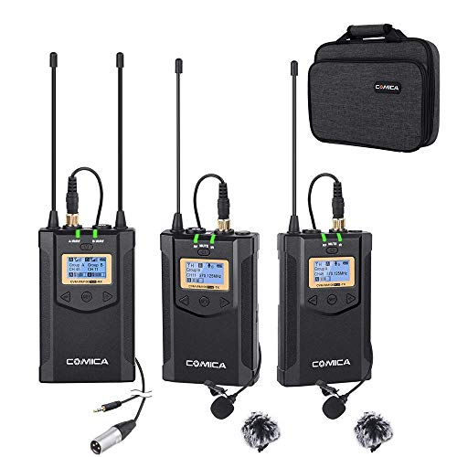 Comica CVM-WM100 Dual Wireless Microphone System