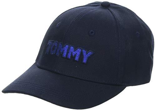 Tommy Hilfiger Damen Patch Baseball Cap, Blau (Tommy Navy 413), One Size (Herstellergröße:OS)