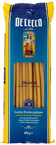 De Cecco - Zita, Pasta di Semola di Grano Duro - 500 g