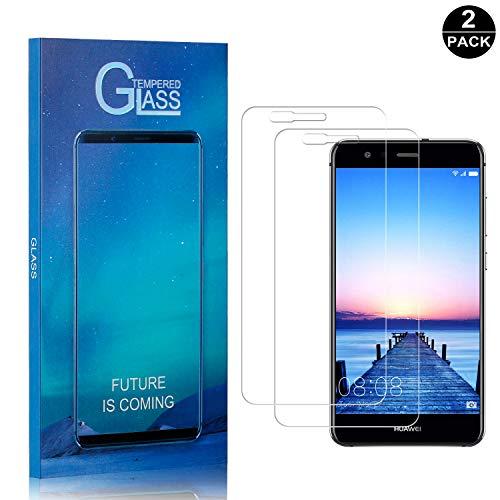 Anti-Ara/ñazos FCLTech Protector de Pantalla para Huawei P20 Pro 9H Dureza 2 Piezas P20 Pro Vidrio Templado Screen Protector Anti-Huellas Dactilares Sin Burbujas