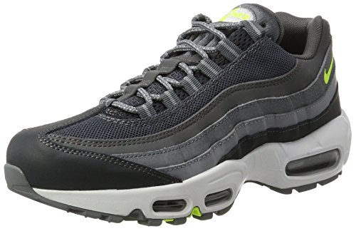 Nike Men's Air MAX 95 Essential Shoe, Zapatillas Deportivas para Interior Hombre, Multicolor (Anthracite/Volt-Anthracite-Dark Grey), 41 EU