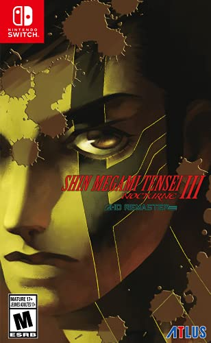 Shin Megami Tensei III: Nocturne HD Remaster - Nintendo Switch -...