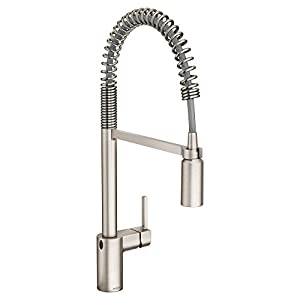 Moen 5923EWSRS One-Handle High Arc - Best One Handle Touchless Faucet
