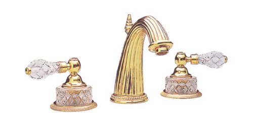 Phylrich K280_025 Polished Gold Regent Cut Crystal...