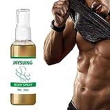 Mnsun Aerosol de quema de grasa rápida para adelgazar la grasa abdominal Burner Essence Herbal Fat Loss Spray para muslos, abdomen, brazos, glúteos, cuerpo, adelgazamiento