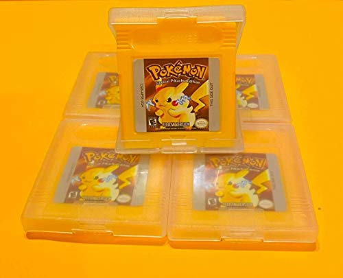 Pokemon Yellow Special Pikachu Version for Nintendo Game Boy Color GBA GBC w/ Case (Third Party Game - REMANUFACTURED VERSION)