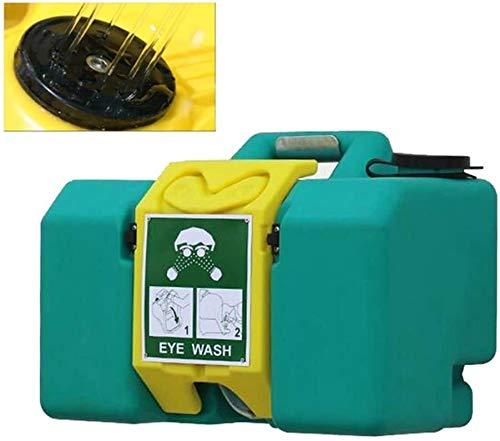 Estación de lavado de ojos de emergencia recargable secundaria 3.4L / min Caudal Lavaojos Estación 8 galones fácil de operar, de apertura y cierre rápido, un sellado fiable 1117