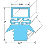 Traulsen 27563 Push-In Magnetic Door Gaskets for Freezers/Coolers/Refrigerators 21-1/2' x 29-1/2'