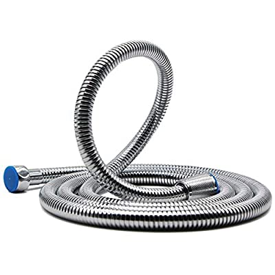 Shower Hose, HooSeen Extra Long 18/8 Stainless Steel Handheld Showerhead Hose Replacement with Solid Brass Connector