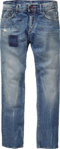 Tommy Hilfiger Herren Jeans Niedriger Bund Hudson Port Blue / 0887830245, Gr. 31/34 , Blau (414 Port Blue)