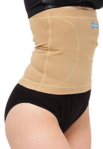 Dermawear Women's Blended Tummy Reducer Shapewear (Beige, Large)