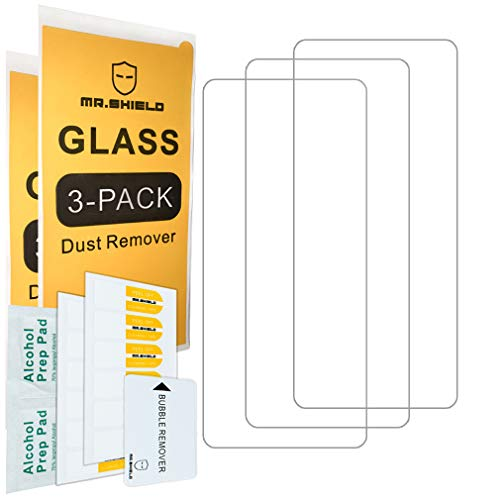 [3-Pack]-Mr.Shield for OnePlus (Nord N100) [Tempered Glass] Screen Protector [Japan Glass With 9H Hardness] with Lifetime Replacement