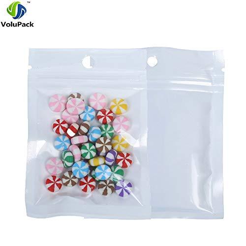 200 en polyéthylène clair Utilisation Alimentaire Congélateur sacs de stockage solide en plastique CRAFT Emballage