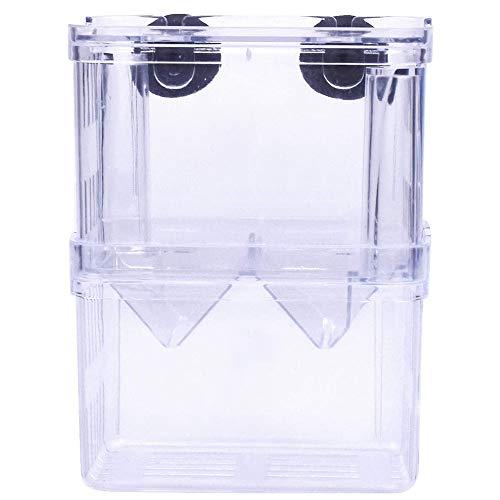 Gobesty Fischzuchtbox, Multifunktional Zuchtbecken Aquarium Transparent Acryl Ablaichkasten Für Fische