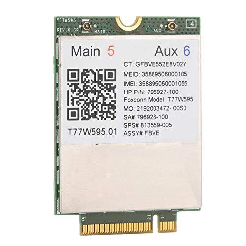 Cuifati Tarjeta de Red WiFi Módulo de módem 4G LTE WWAN M.2 para Tarjeta inalámbrica LT 4120 Snapdragon X5 con Interfaz NGFF