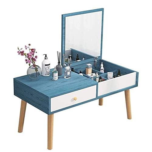 HHTD Tabla de té pequeña Tabla TATIAMI Tatami Simple WONDONESCOM BRAJO Mesa DE Dormitorio Muebles DE Muebles DE Muebles con Espejo