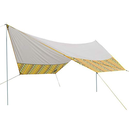 CAIJUN Toldo Impermeable Refugio Playa Lona Carpas De Camping Al Aire Libre...