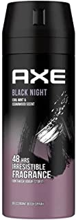 AXE Black Night Deodorant and Body Spray for Men, 150 ml
