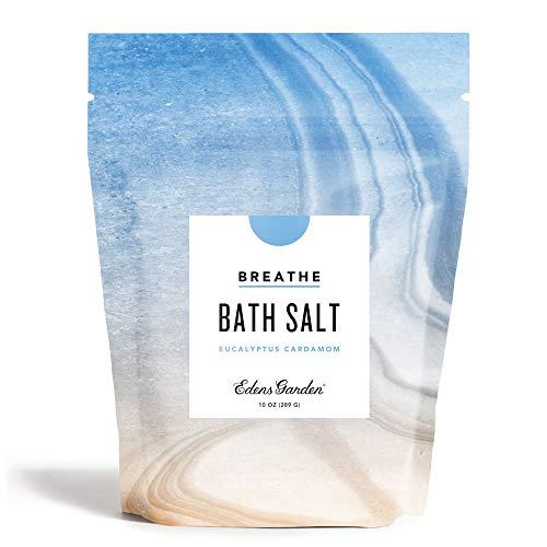 Edens Garden Eucalyptus Cardamom Mineral Bath Salts (Made with Essential Oils, Epsom & Celtic Sea Salt - Great for Detox, Sleep, Immunity, Relaxation, Pain), 10 oz