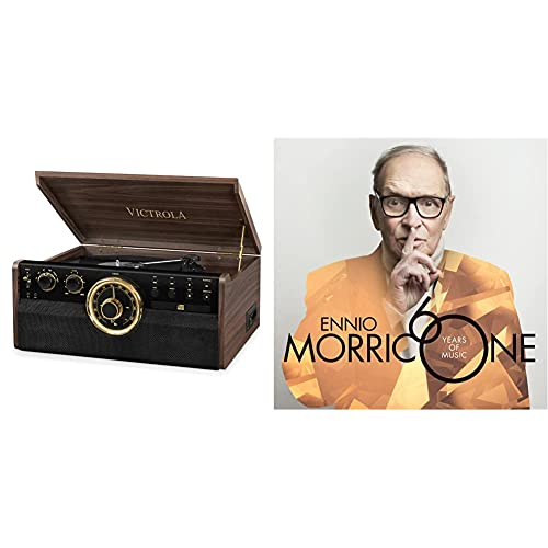 Victrola Empire Vynil Music Centre 6-in-1 - Expresso & Morricone 60 Years Of Music