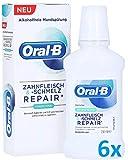 Oral B (6 x 250ml) Zahnfleisch & -Schmelz Repair