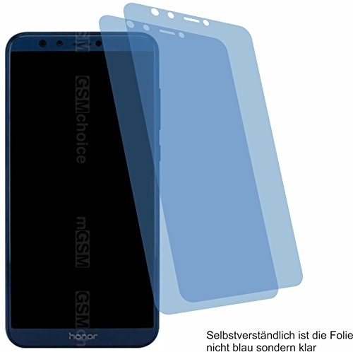 4ProTec I 2X ANTIREFLEX matt Schutzfolie für Huawei Honor 9 Lite Bildschirmschutzfolie Displayschutzfolie Schutzhülle Bildschirmschutz Bildschirmfolie Folie